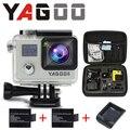 O novo pacote de chegada Câmera de Ação 100% original Ultra HD 30 M Sport 2.0 'screen 1080 P FHD câmera go pro é à prova d' água