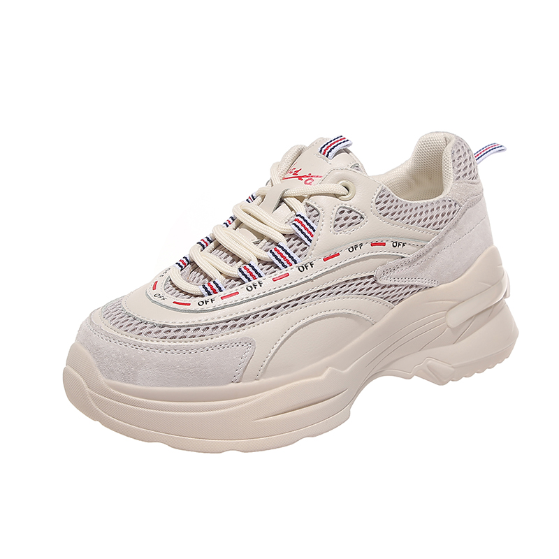 Chaussures de course pour femmes 2019 nouvelles baskets Chunky femmes maille respirante semelle épaisse papa chaussures Zapatillas Mujer Deportiva