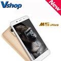 Оригинал LEAGOO M5 Плюс 5.5 дюймов 4 Г Мобильные Телефоны Android 6.0 MT6737 Quad Core RAM 2 ГБ ROM 16 ГБ 2.5D Дуги Dual SIM Сотовый Телефон OTG