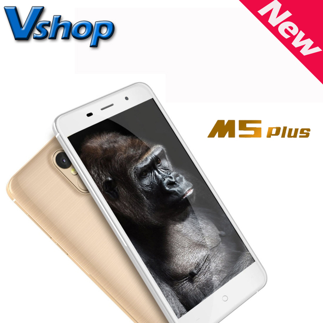 Original LEAGOO M5 Plus 5.5 inch 4G Mobile Phones Android 6.0 MT6737 Quad Core RAM 2GB ROM 16GB 2.5D Arc Dual SIM Cell Phone OTG