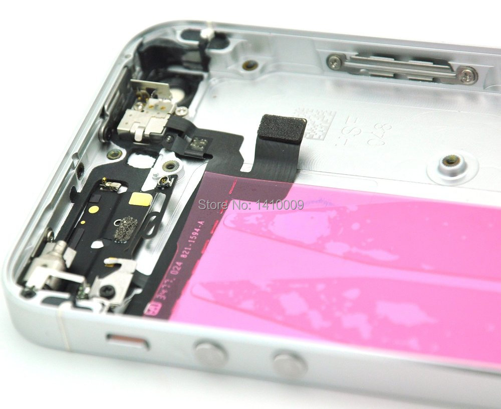 New Tested Back Cover Housing Assembly for iPhone 5S Complete ...