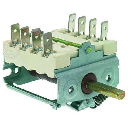 BERTOS 22050300 Interruptor Selector Rotatorio EGO 49.41015.500 Parrilla PASTABERTOS 22050300 Interruptor Selector Rotatorio EGO 49.41015.500 Parrilla PASTA