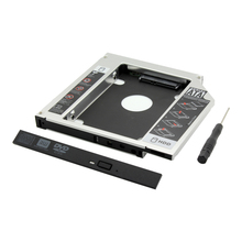 for H P PAVILION DV6 DV7 DV5 Series Laptop HDD SSD Caddy Second Hard Disk Drive Enclosure CD DVD Optical Bay Replacement Case