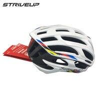 2018 cycling helmet bike bicycle helmet men's race bike white red yellow black multi colors 260g light weight 34 holes