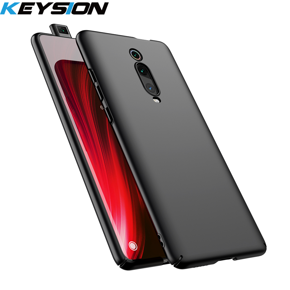 KEYSION Micro matte Phone Case For Xiaomi Mi 9T 9T Pro Mi 9 SE 8 A3 lite CC9e Hard Back Cover for Redmi K20 Note 9S 7 8 Pro 8A