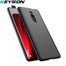 KEYSION Micro matowy futerał na telefon dla Xiaomi Mi 9T 9T Pro Mi 9 SE 8 A3 lite CC9e twardy tylna pokrywa dla Redmi K20 uwaga 9 S 7 8 Pro 8A