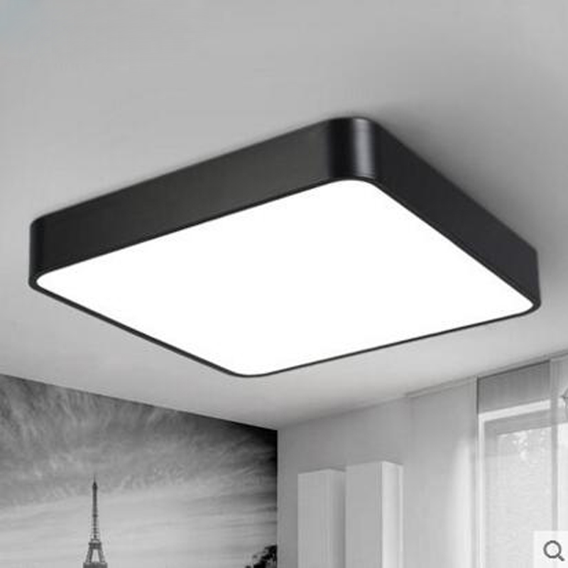 Us 146 0 60 Off Led Square Ceiling Light Modern Simple Rectangular Aisle Corridor Office Lighting Fixture Lamp In