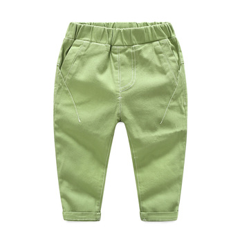 ¡Novedad! pantalones coreanos de lino de primavera y otoño para niños, pantalones de harem para niñas, ropa para niños, pantalones de correr para bebés y niños, ropa para niños
