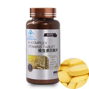 Image 1 - 60 adet saf doğal Multivitamin B yetişkin VB, vitamin B1 B2 B6 B12 için yorgunluk rahatlatmak sindirim önlemek saç dökülmesi bakımı saç