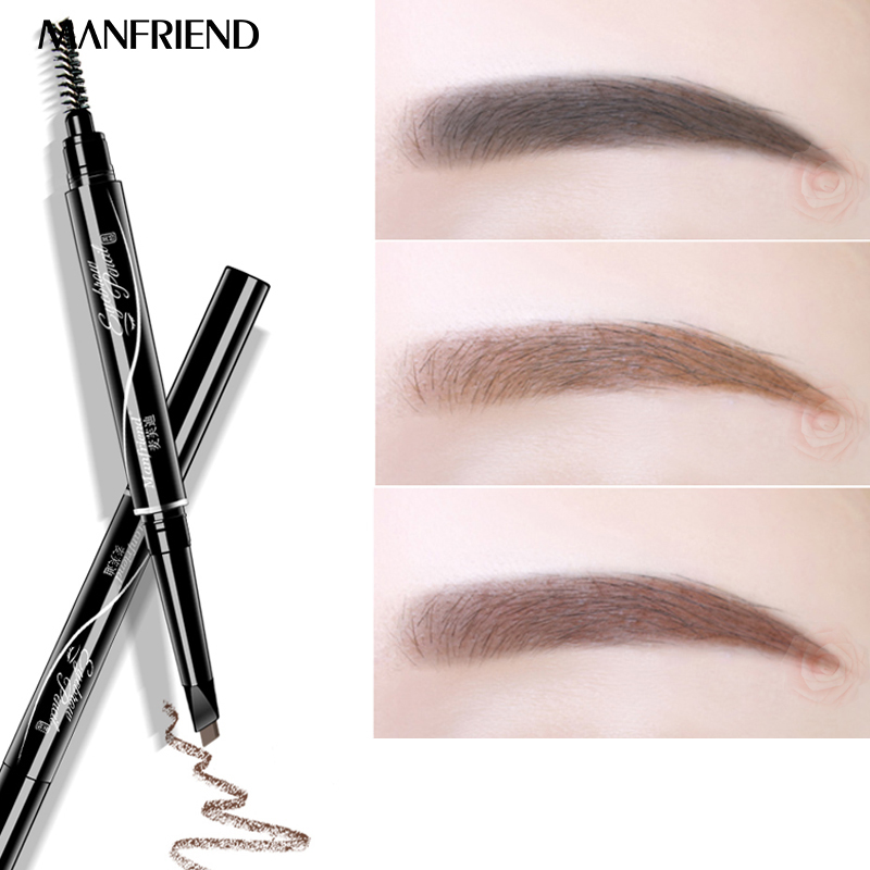 ManFriend Brand Modelling Rotate Makeup Eyebrow Pencil Automatic Profession Waterproof Natural Long-lasting Eye Liner Tools