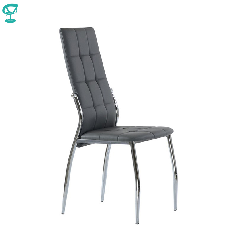 95321 Barneo S-68 Eco-leather Kitchen Furniture Breakfast Interior Stool Chair For Dining Gray Free Shipping In Russia