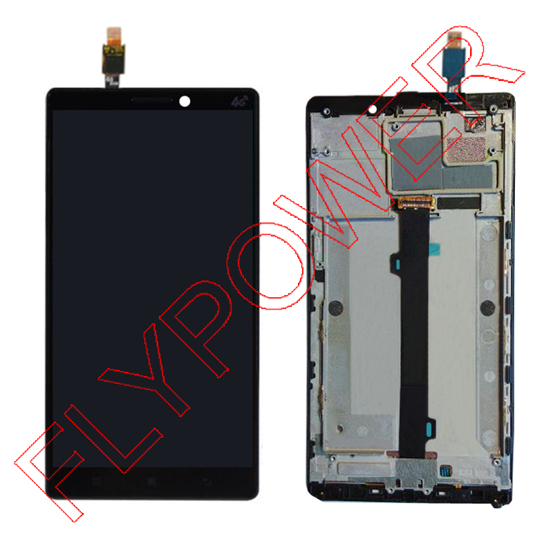100% Warranty  FOR  lenovo Vibe Z2 pro k920 lcd screen display with digitizer touch screen + Frame Assembly by free shipping vibe x2 lcd display touch screen panel with frame digitizer accessories for lenovo vibe x2 smartphone white free shipping track