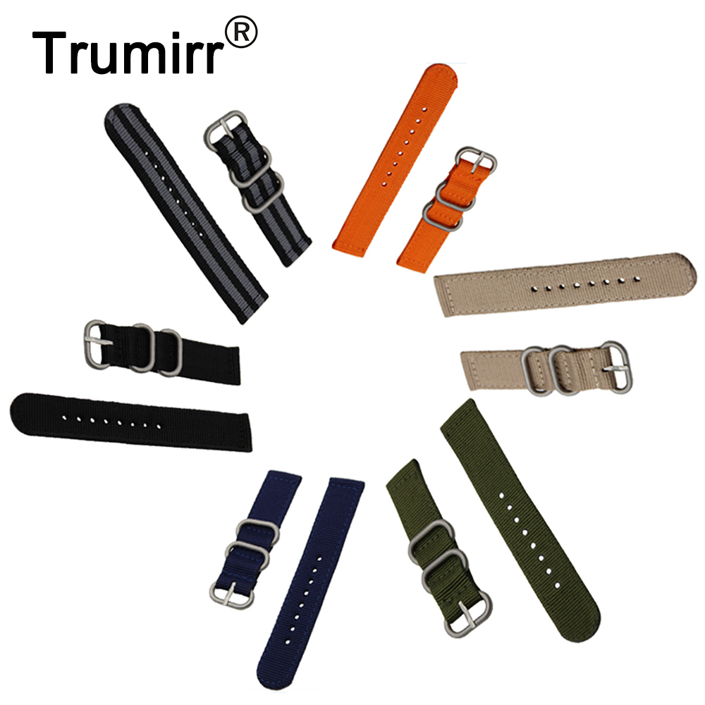 18mm 20mm 22mm 24mm Nylon Watch Band Univeral Zulu Fabric Strap Wrist Belt Bracelet Black Gray Blue Brown Green Orange + Tool high quality 20 22 24mm military nylon army green soft belt bracelet replacement pin buckle sport outdoor watch strap band