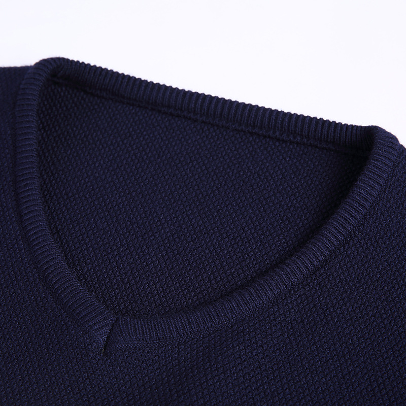 2018 Hot Sale Casual Computer Knitted V-neck Pullovers Men Korean Fashion Striped Print Wool Sweaters Men Sweter Hombre