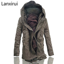 Men Jacket And Coats 2018 Winter Warm Fashion Jackets Downs Casual Thick Outwears Plus Size 4xl 5xl