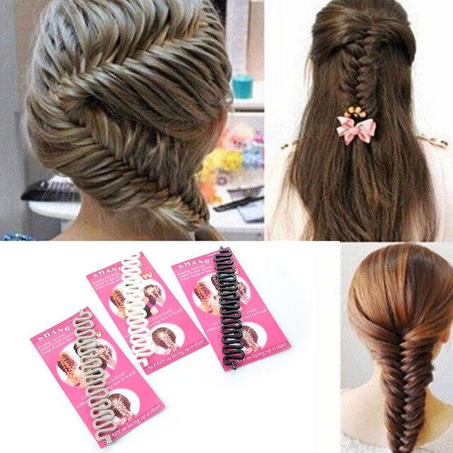 YouMap Fashion French Braid Tool Women Magic Hair Styling Accessories Hair Bun Maker Quality Braiding Hair Twist Y3R1C