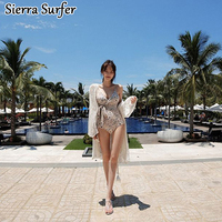 Swimwear Large Size One Piece Swimsuit Plus Women Woman One Piece Female 2018 New Sexy Triangle