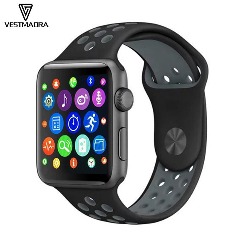 imágenes para 2017 bluetooth smart watch iwo 2 1:1 upgrade del ritmo cardíaco iwo 2 dispositivo portátil para apple iphone android inteligente smartwatch teléfono