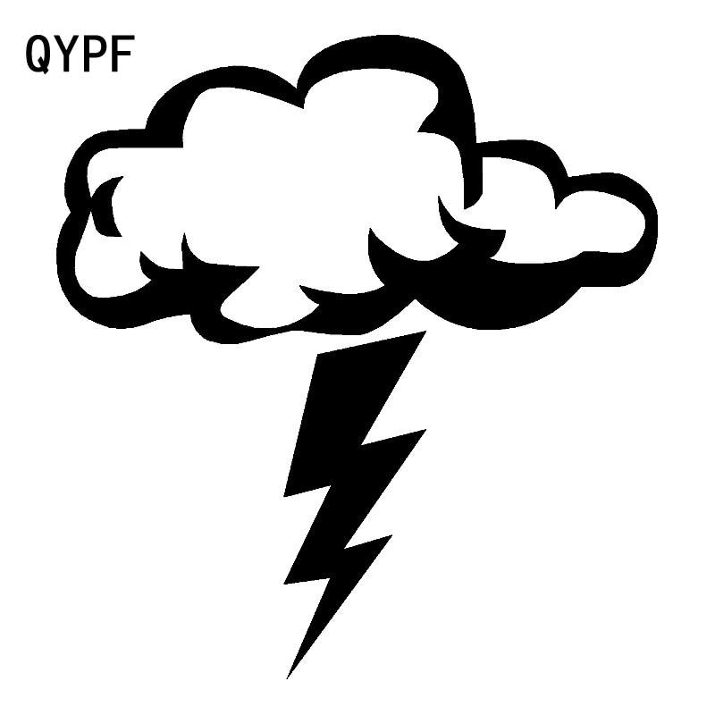 Qypf 16 7 Cm 17 9 Cm Kartun Animasi Flash Petir Berkedip Dan