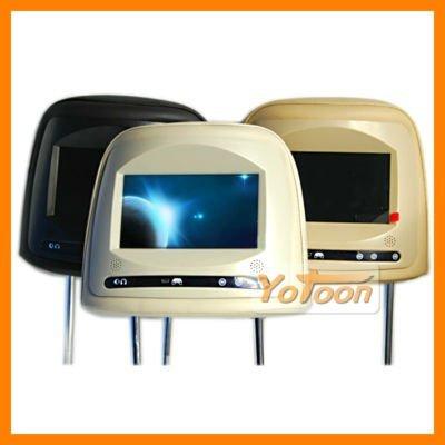 "car headrest monttior,7 ""Car Headrest Monitor with 800*480 HD LCD Screen"