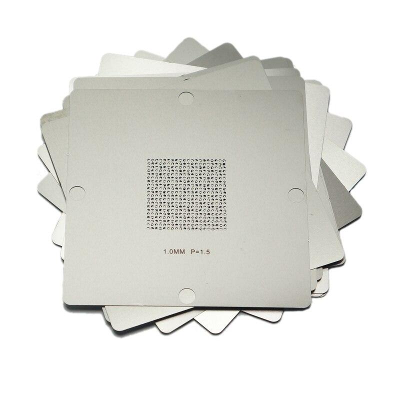 Universal BGA Reballing Kit with 29/pcs 90*90mm 90x90mm Stencils bga reballing kit with 170pcs 90 x 90mm bga stencils for laptop desktop ram xbox ps3 wii gpu cpu
