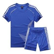 Футбол Джерси спортивные костюмы для детей Одежда Футбол Наборы для девочек летние Детские костюмы для мальчиков, одежда для мальчика, комплект школьной формы