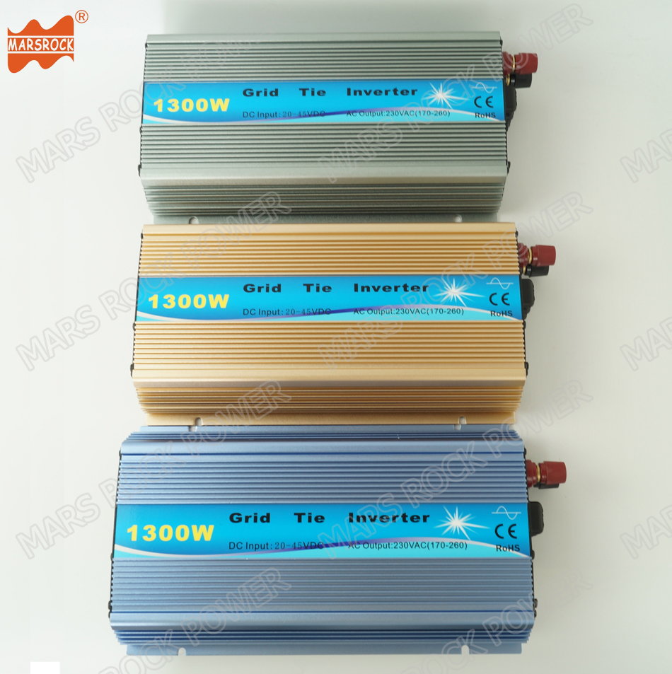 1300W Grid Tie Solar <font><b>Inverter</b></font>, 18V, 30V,36VDC, Max <font><b>1500W</b></font> solar or wind power input, MPPT function, high quality, free shipping!! image