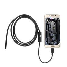 7 мм объектив 1 м 6 светодиодный 2 в Инспекционная камера эндоскоп