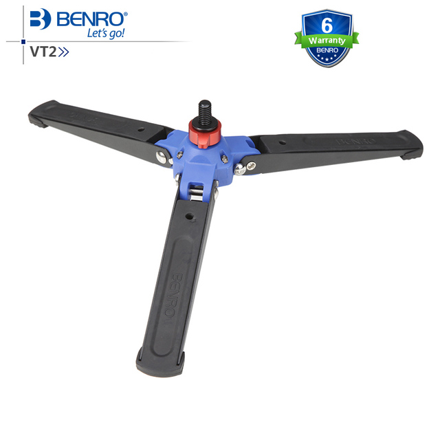 Benro VT2 3-Leg Locking Base Accessory For Monopod Fits Monopod with Removeable Supporting Stand 3/8 Threaded Foot Free Shipping