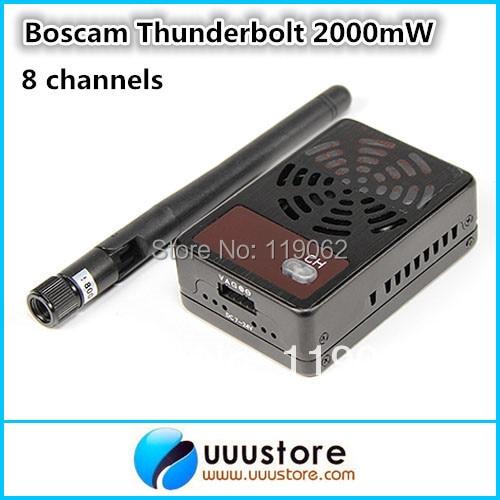 ФОТО Thunderbolt 2000mW 5.8GHz FPV wireless AV Transmitter for FPV Aerial Photography