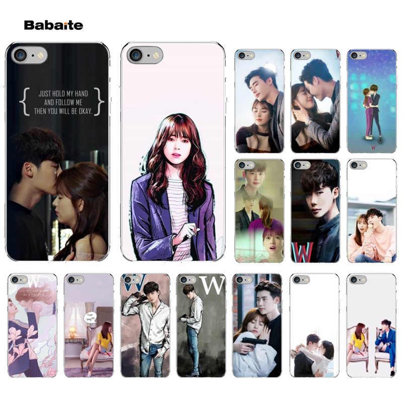 Babaite W-Two Worlds ละครเกาหลีโทรศัพท์ 11 โปร่งใสโทรศัพท์มือถือกรณีสำหรับ iPhone 6S 6plus 7 7plus 8 8Plus X Xs MAX 5 5S XR