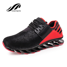 New hot sale retro breathable sports men shoes sneakers authentic cheap jogging homme comfortable outdoor running shoes