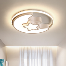 Pink/Blue/White Modern LED Ceiling Chandelier Diameter 48cm For Childrens Room Study 56w lighting lustre