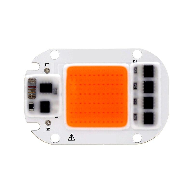 Светодиодный светать чип 20 W 30 W 50 W 110 V 220 V полный спектр 380nm ~ 780nm лучше для гидропонная теплица расти DIY для светодиодный лампы рост