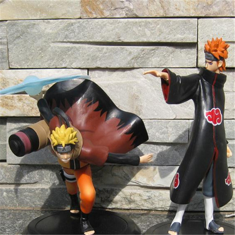 1pc/lot Naruto/Yahiko Anime Pain Six Paths Of Pain Nagato Action Figure Toys PVC Collections Figures Kids Toys Brinquedos 18cm lps pet shop toys rare black little cat blue eyes animal models patrulla canina action figures kids toys gift cat free shipping
