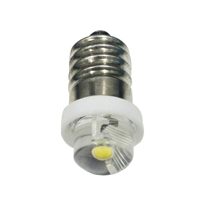 Image 2 - E10 LED Upgrade Flashlight Bulb 0.5W 1W Emergency Light Bulbs 3V 4.5V 6V C/D Cell Replace Flashlight Torches Bulb