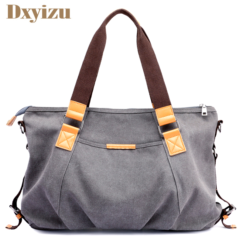 Ruched New Desigh Women Autumn and Winter Canvas Shoulder Bag Casual Bags Large Capacity Hand Bags Solid Crossbody Tote bolsas 2016 autumn and winter new casual waterproof nylon shell bag soft bag portable women shouid bags dd5023