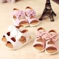 2017 Summer New Korean Sweet Girl Princess Sandals Children Bow Fish mouth beach sandals Baby girl Comfortable non-slip shoes