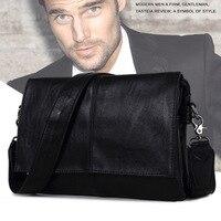 2016 New Designer Handbags Men S Bag PU Leather Messenger Small Bags Men Travel Business Bags