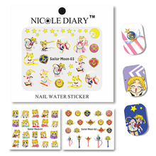 1 Sheet Nail Art Water Decals Design Tips Water Transfer Stickers Nail Art Water Tattoo