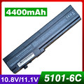 4400 mah bateria do portátil para hp mini 5101 5102 5103 532492-111 532496-541 579027-001 at901aa hstnn-db0g hstnn-i71c hstnn-ib0f