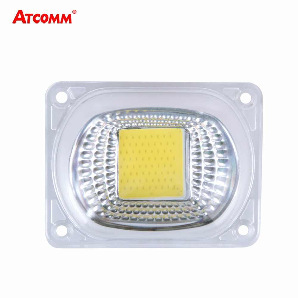 Smart IC LED COB Lamp Chip With Light Covers 20W 30W 50W High Power LED Diode Matrix Array With LED Lens Reflector 110V/220V