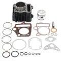 ATV 70cc Поршень Комплект Прокладок Кольца Двигателя Для Honda ATC70 TRX70 4 Уилер Алюминиевого Сплава Внутренний Диаметр 47 мм