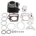Atv 70cc cilindro anillos de pistón kit de juntas de motor para honda atc70 trx70 4 ruedas de aleación de aluminio de diámetro interior 47mm