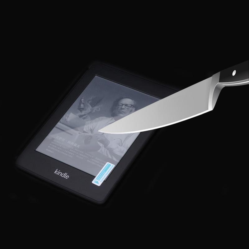 9H grūdinto stiklo ekrano apsaugas Amazonės pakurai Paperwhite 1 2 3 Versija 2014 2015 2016 + Alkoholiniai audiniai + dulkių lipdukai