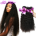 Brazilian Kinky Curly Virgin Hair 4 Bundles Brazilian Curly Human Hair Cheap Unprocessed Deep Curly Virgin Hair Weave Bundles