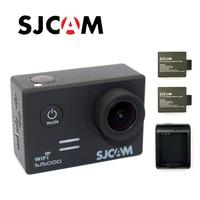 Бесплатная Доставка! Оригинальный SJCAM sj5000 WI FI Дайвинг 30 м Водонепроницаемый Действие Спорт Камера + дополнительная 2 шт. батареи + Батарея Зар