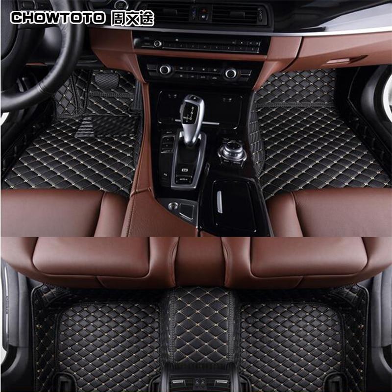 CHOWTOTO AA Pielāgoti īpaši automašīnu grīdas paklāji Mazda 6 Atenza ūdensnecaurlaidīgam neslīdošam paklājam Mazda6 Atenza