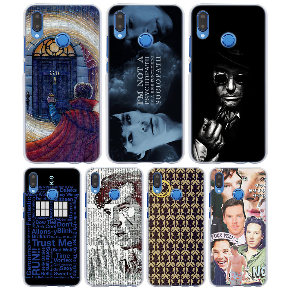 Cellphones & Telecommunications Phone Bags & Cases Initiative Sherlock Holmes Doctor Who Style Thin Clear Phone Cover Case For Huawei P20 P20lite P10 P10lite P8 P9 Lite 2017 Large Assortment