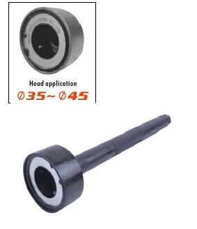 Ferramenta de haste interna empate 35 & 43mm, ou a fácil remoção e instalação da vara pista